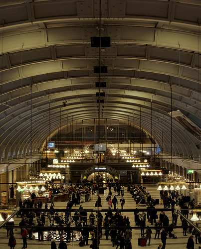 stockholm central train station