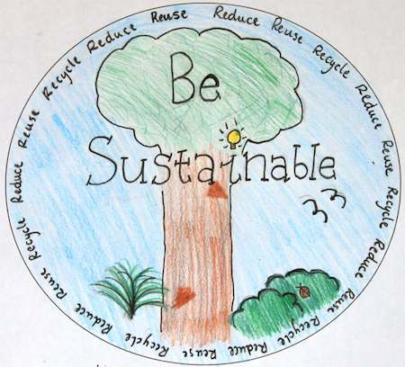 Be Sustainable – drawing