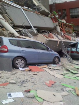 Earthquake Christchurch