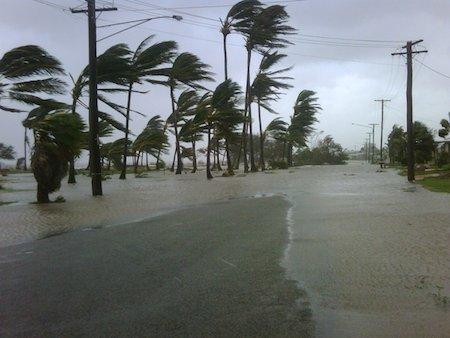 Cyclone Yasi storm surge