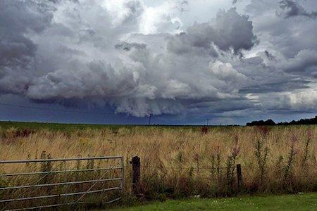 Approaching storm – UK