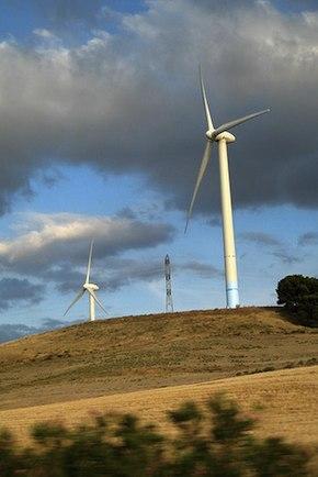 wind turbines – Spain