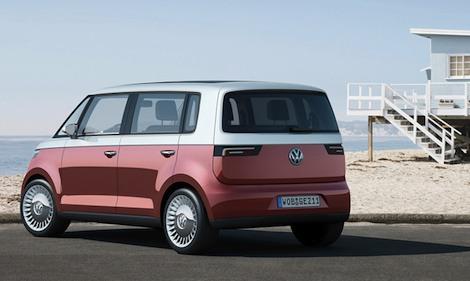 VW Bulli rear