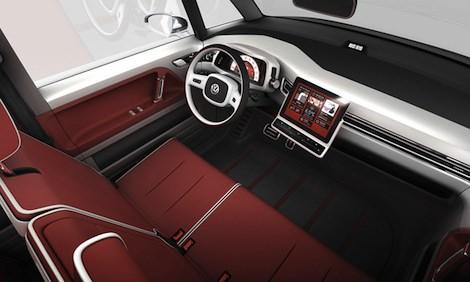VW Bulli interior front