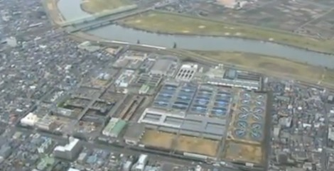 Tokyo water purification plant