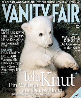 Knut – Vanity Fair cover
