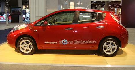 2011 Nissan Leaf electric car