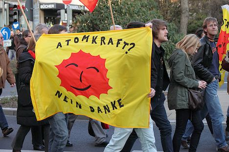 Anit-nuclear protest – Germany