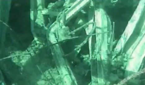 Fukushima reactor wreckage