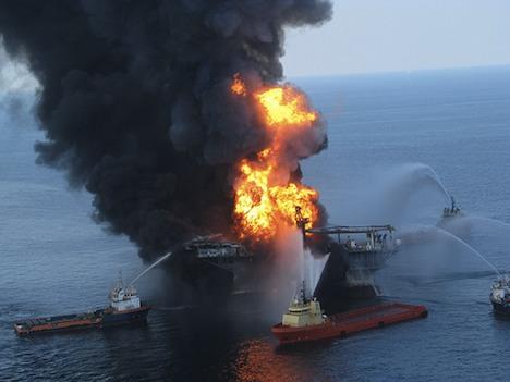 Deepwater Horizon oil drilling platform