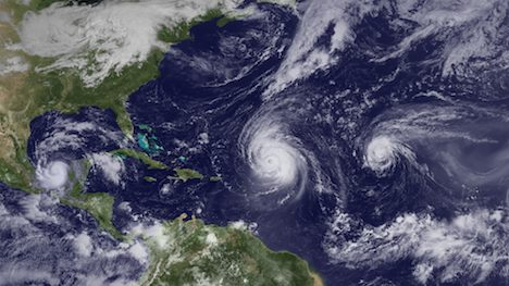 Atlantic hurricanes in 2010