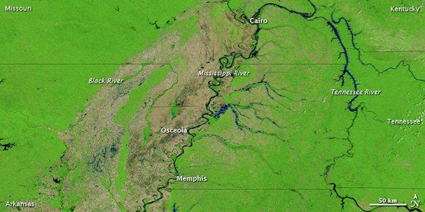 Mississippi River 2010