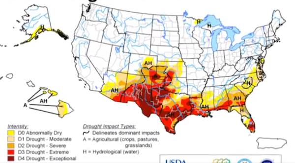 US drought 2011