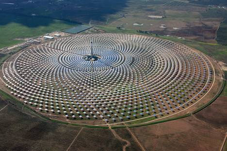 Gemasolar solar thermal plant – Spain
