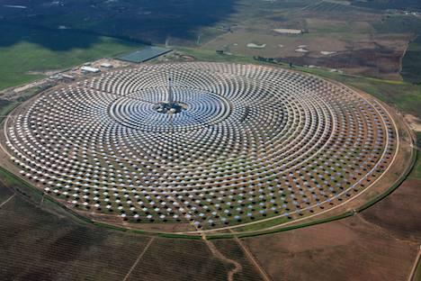 Gemasolar solar thermal plant – Spain