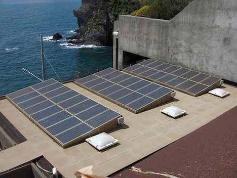 Solar panels in Italy