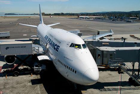 Air France jet