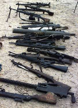 Weapons in Somalia
