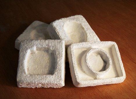 EcoCradle mushroom packaging