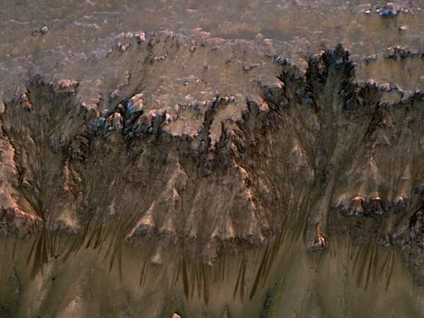 Mars Warm Season Flows