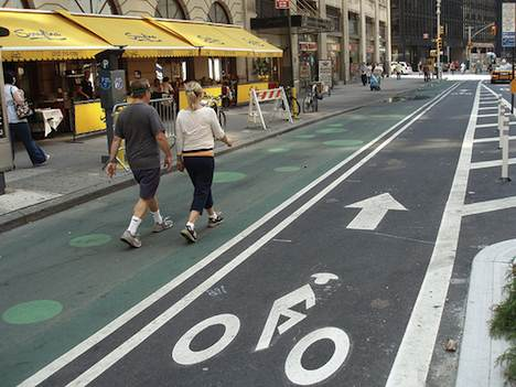 New York City bike lane
