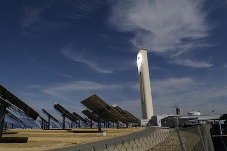Solar power plant – Spain