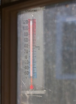 Thermometer – 110 degrees