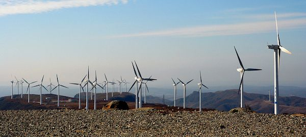 Wind farm – China