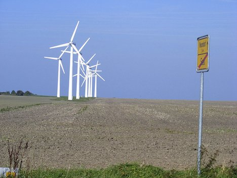 Wind turbines, Germany
