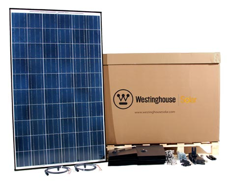 Westinghouse solar kit