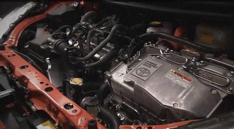 Toyota Prius Model C engine