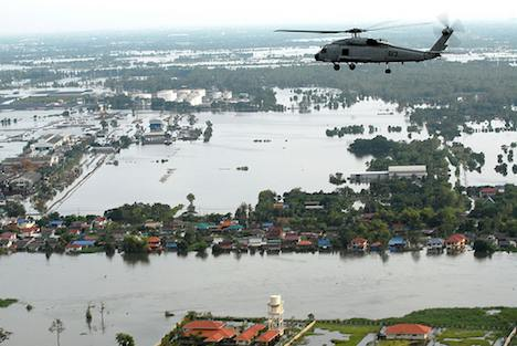 Bangkok area in flood