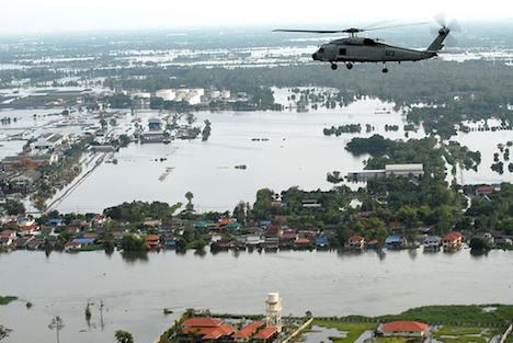 Bangkok area in flood