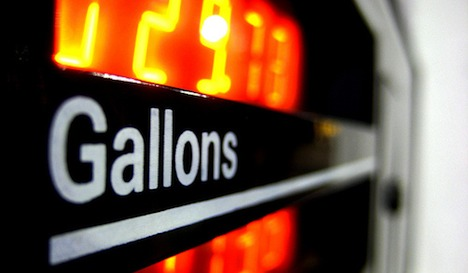 Gallons sign