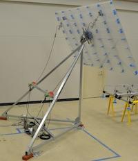 Google heliostat prototype