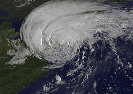 Hurricane Irene reaches New York