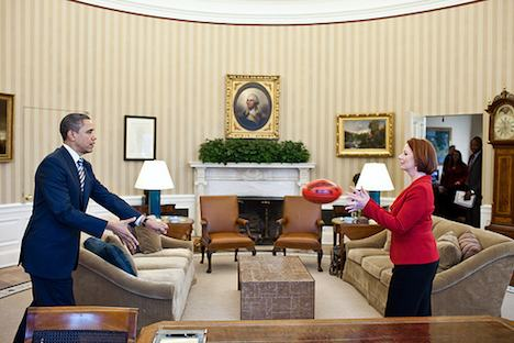 President Obama and Prime Minister Gillard