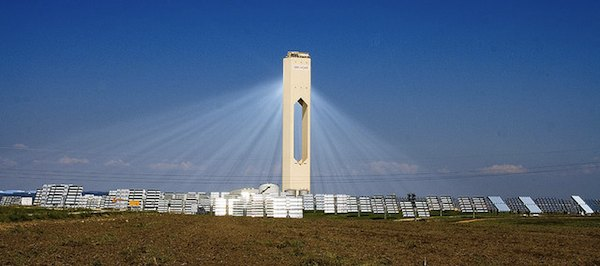 Solar thermal power plant - Spain