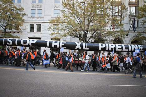 Tar Sands Action, White House