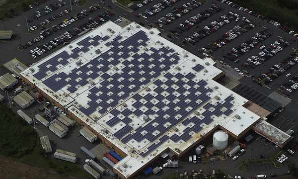 Solar Panels on Caguas, Puerto Rico Walmart