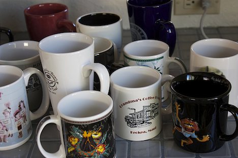 Coffee and teas mugs
