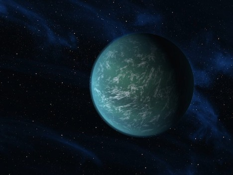 Earth-like Kepler-22b