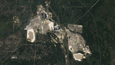 Alberta oil sands - 2011