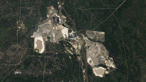 Alberta oil sands - 2011