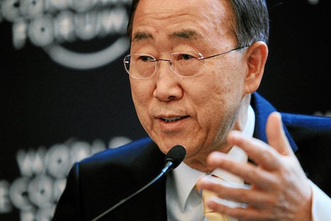 Ban Ki-moon – World Economic Forum 2012