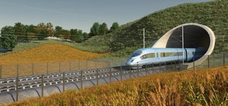 UK high-speed rail network