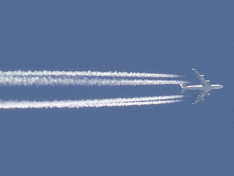 Jet Contrail