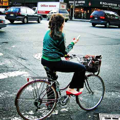 New York City biking