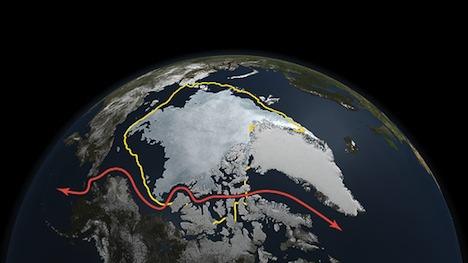 Arctic Northwest Passage