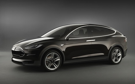 Tesla Model X – front